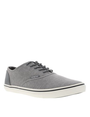 Baskets Heat Chambray homme gris