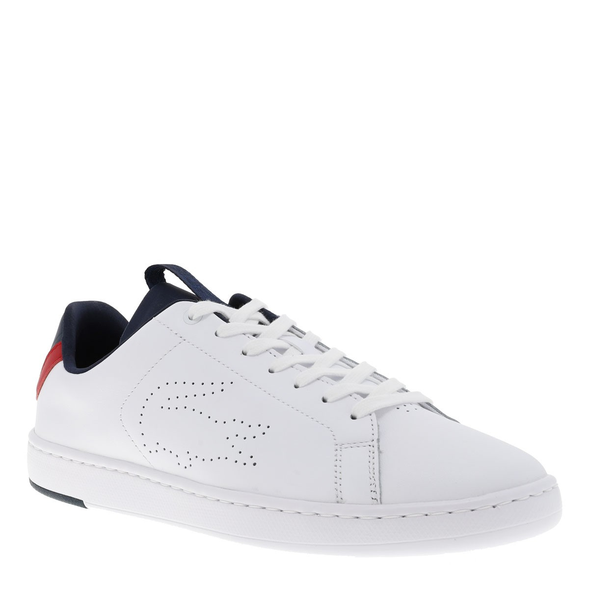 Lacoste Mode Blanc Baskets Homme Ccv Carnaby DWHE2I9Y