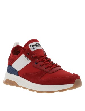 Baskets Axeon Army homme rouge