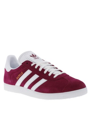 Baskets Gazelle homme rouge