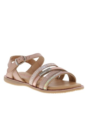 Chaussures nu-pieds Irene fille rose