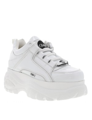 Baskets London femme blanc