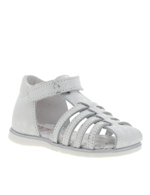 Chaussures nu-pieds Reina fille blanc