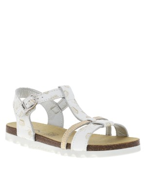 Chaussures nu-pieds Emicara fille blanc