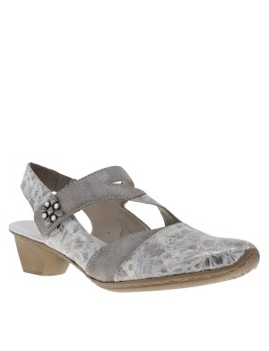 Chaussures femme gris