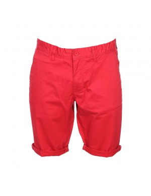 Short homme rouge