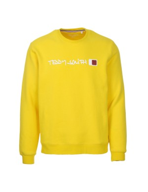 Sweat homme jaune