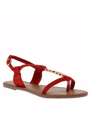 Chaussures nu-pieds Petunia femme rouge