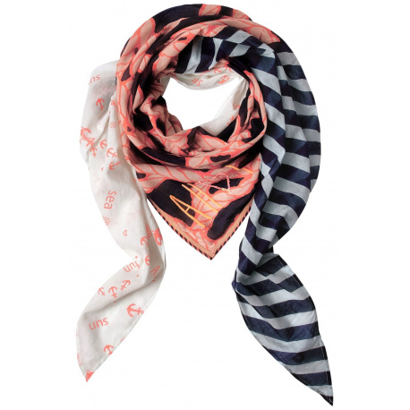 Foulard femme orange STREET ONE