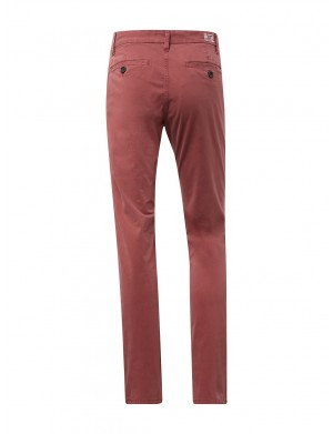 Chino homme rouge