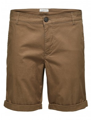 Short homme marron
