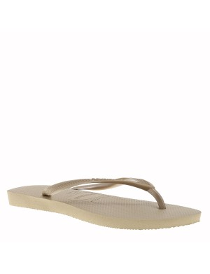 Tongs Slim femme sable