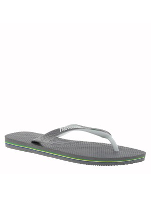 Tongs Brasil Mix homme gris
