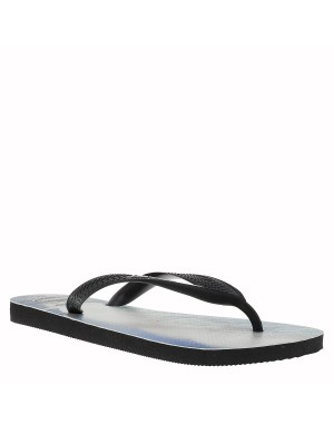 Tongs Photoprint homme noir