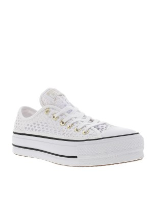 Baskets All Star Ox femme blanc
