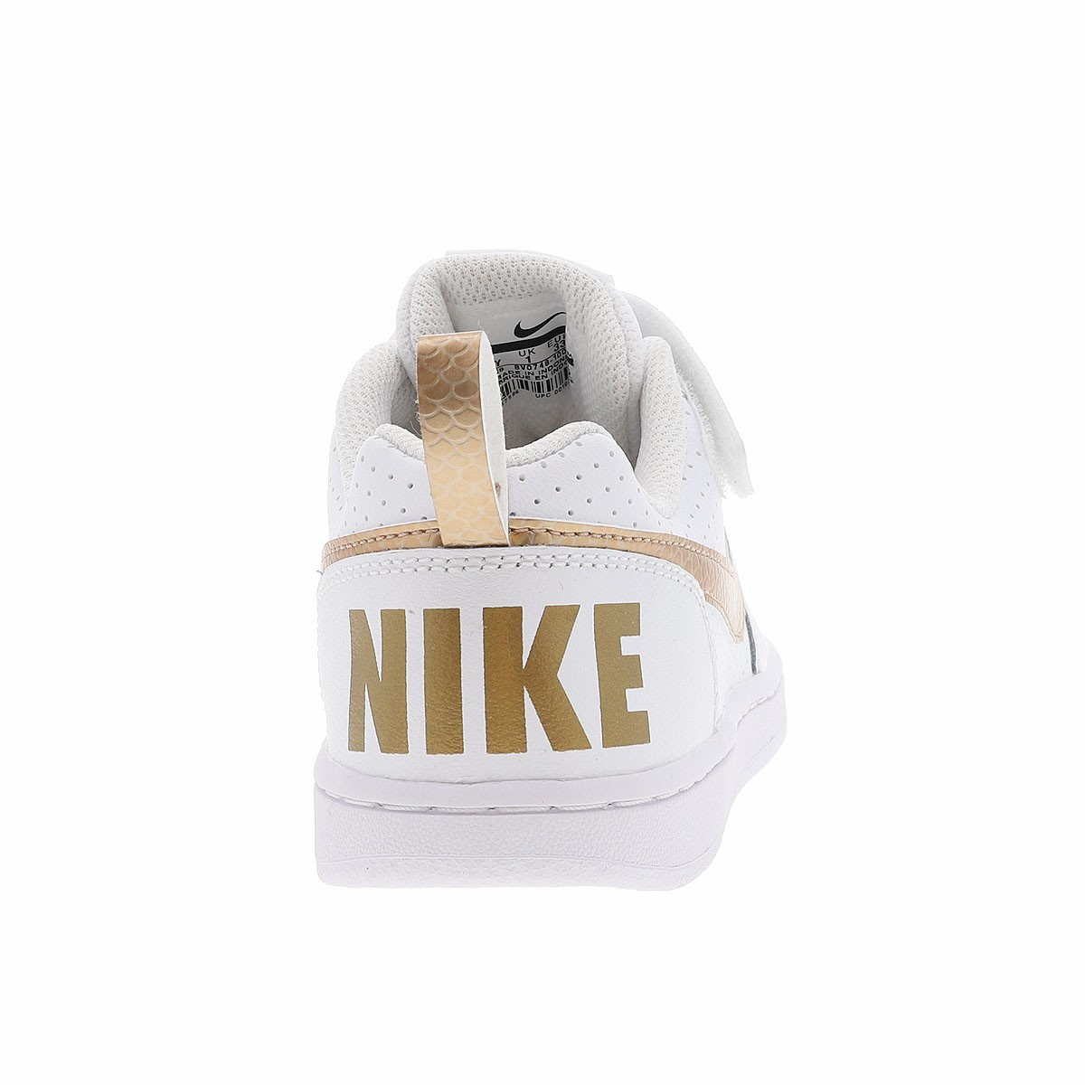 huge discount save up to 80% exquisite design Borough Mode fille Nike Baskets CCV blanc Court Imf7vb6gyY