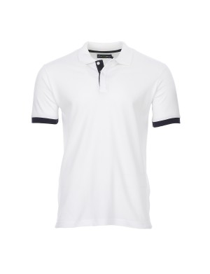 Polo Alix manches courtes homme blanc