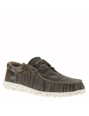 Chaussures Bateau Waly Sox homme marron