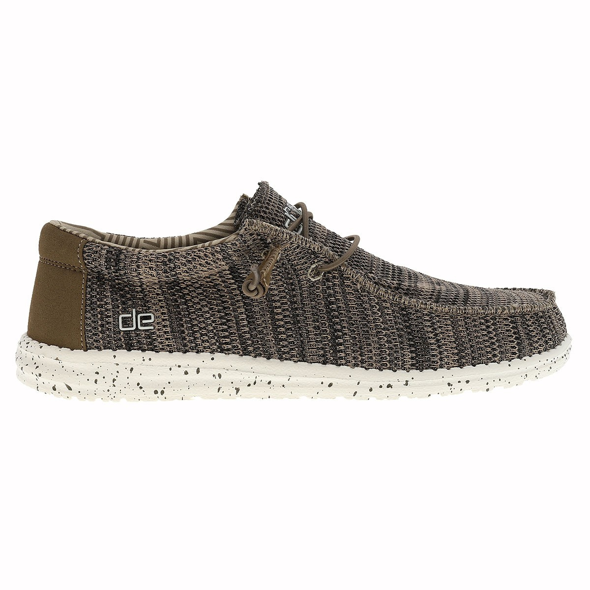 Sox HEYDUDE homme Waly Bateau marron Chaussures 0m8OvNnw
