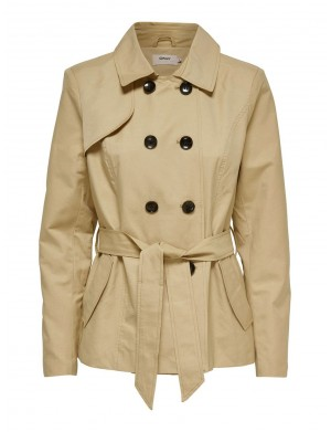 Trench femme beige