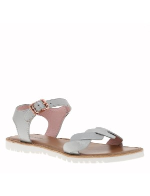 Chaussures Beth nu-pieds fille blanc