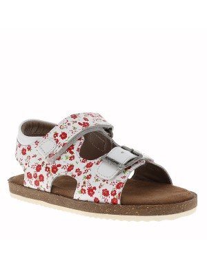 Chaussures Funkyo nu-pieds fille blanc