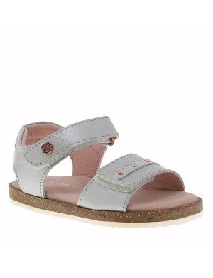Chaussures Faiade nu-pieds fille gris