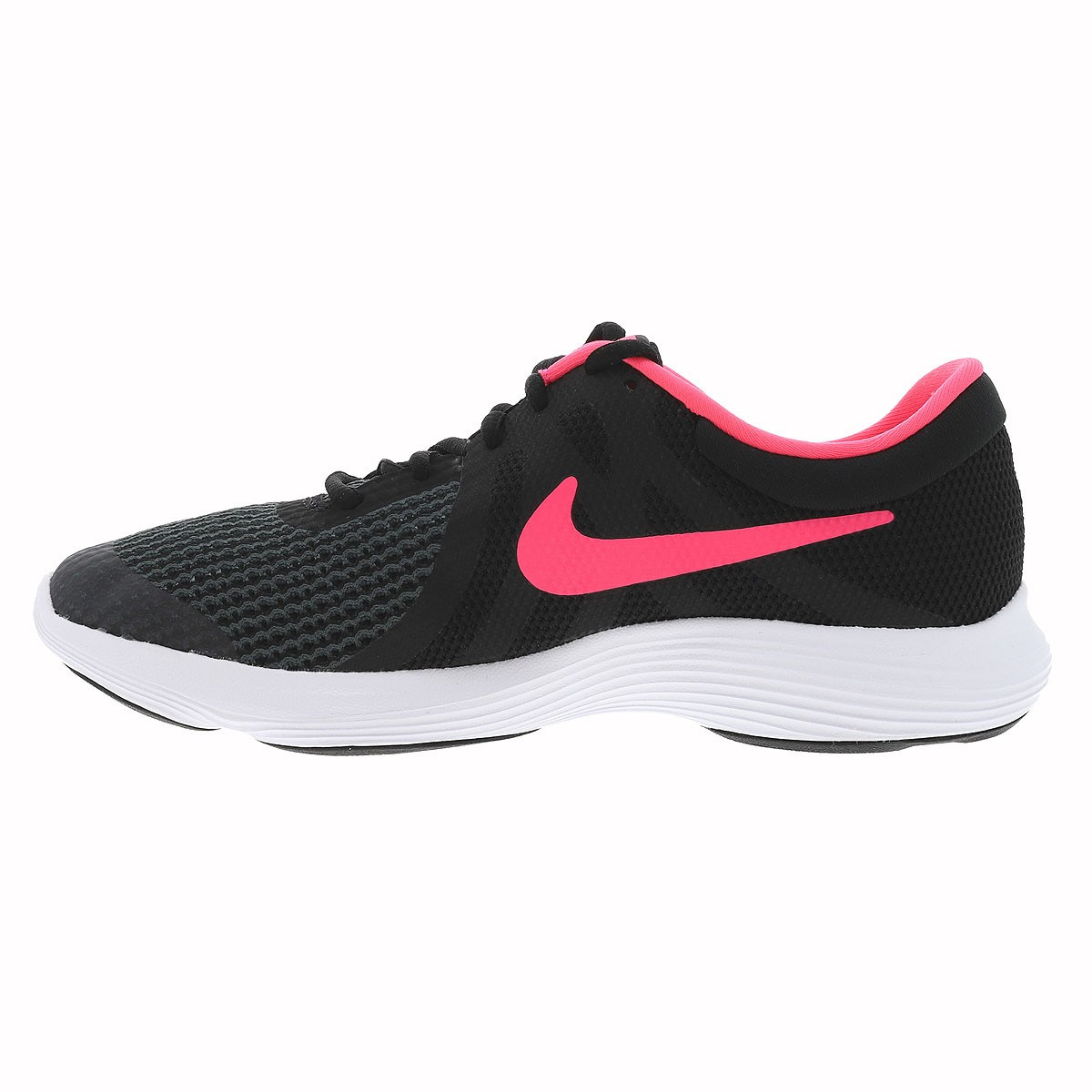 Nike Fille Baskets Noir 4 Revolution 2WEDHYI9e