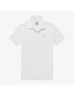 Polo manches courtes homme blanc