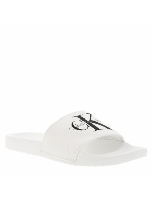 Mules homme blanc
