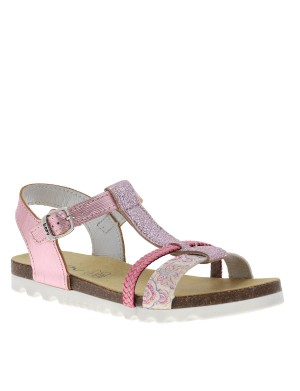Chaussures nu-pieds Emerine fille rose
