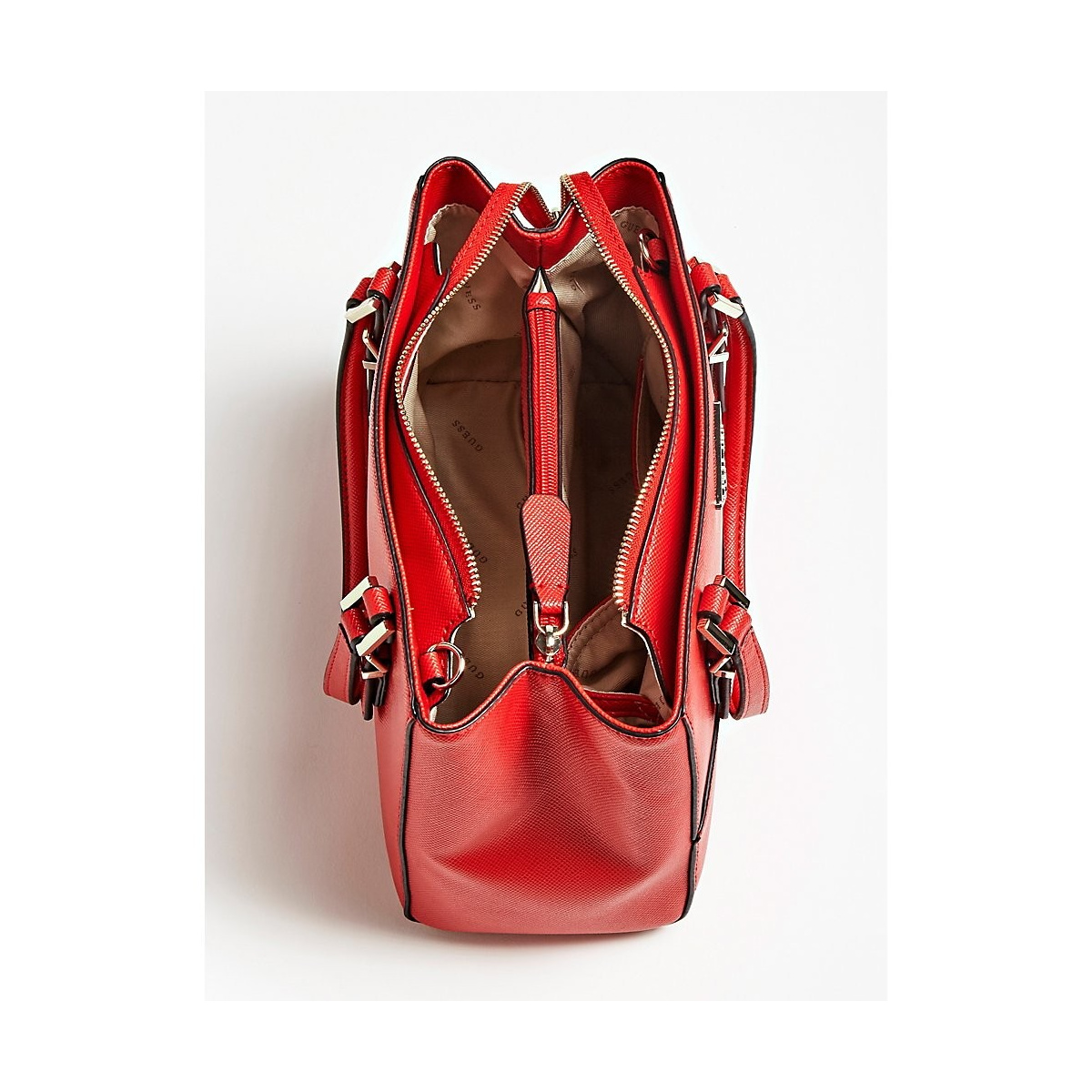 available utterly stylish skate shoes GUESS Sac porté épaule rouge
