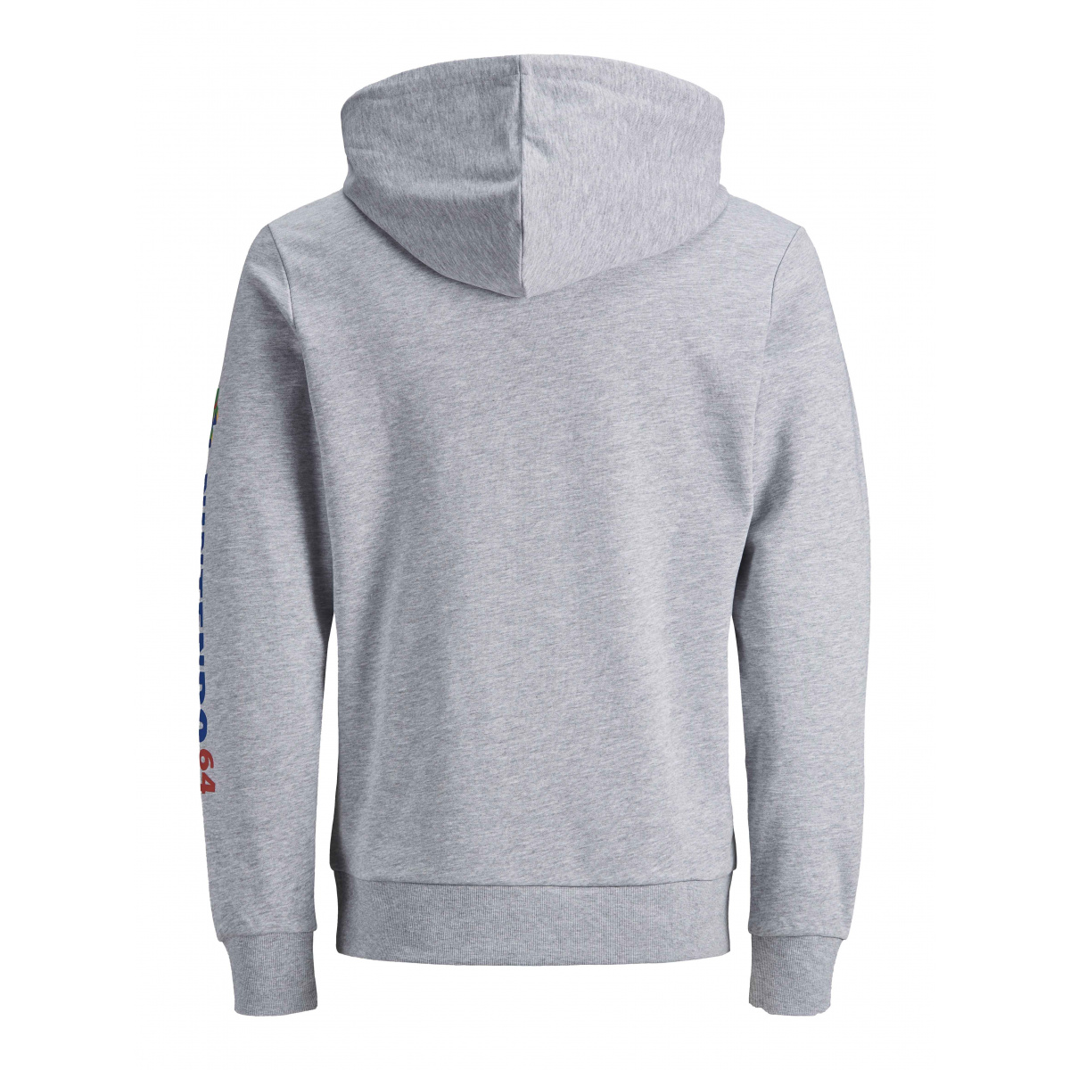 Sweat à capuche  homme gris JACK & JONES