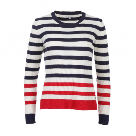 Pull femme blanc PEPE JEANS
