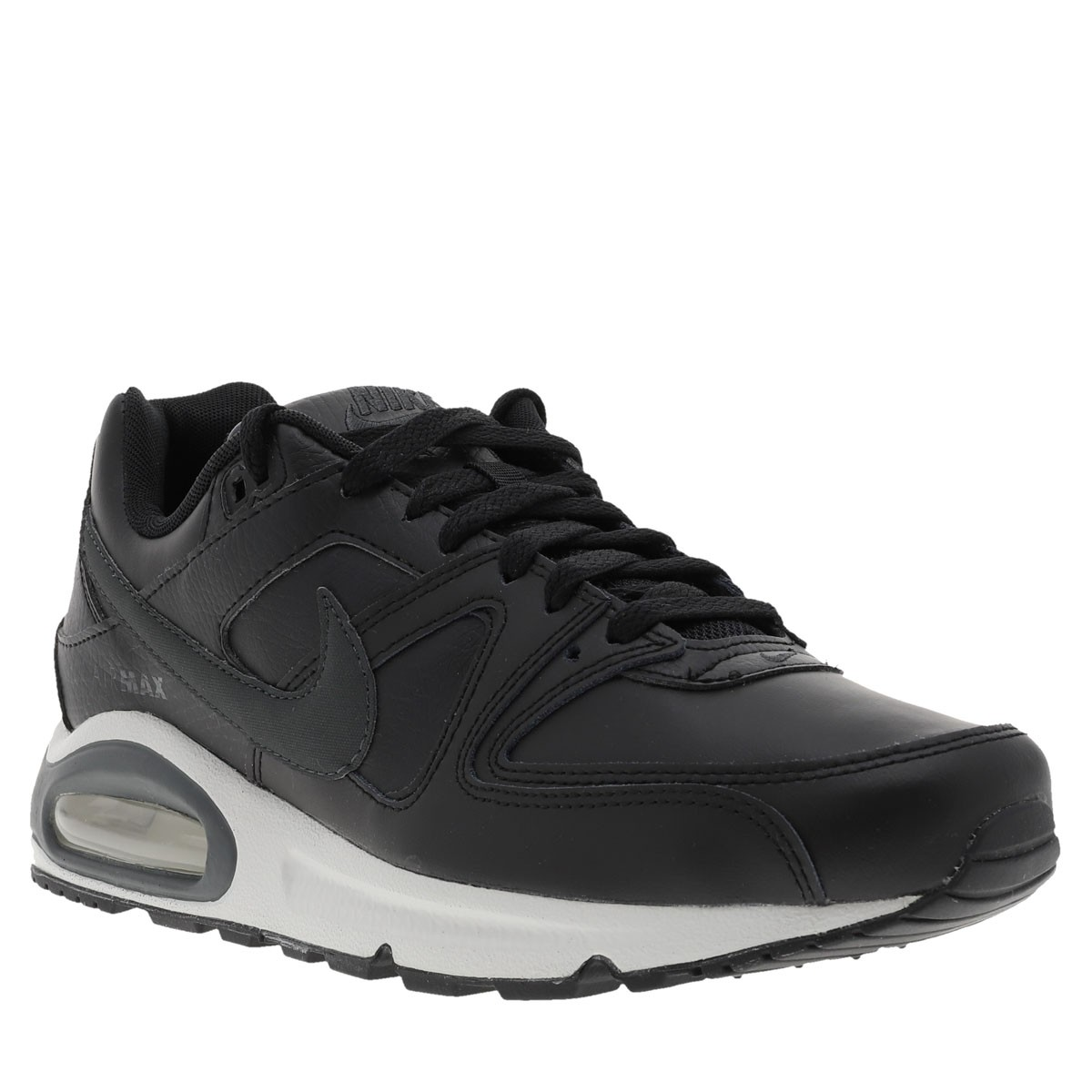 NIKE Baskets Air Max Command Leather homme noir