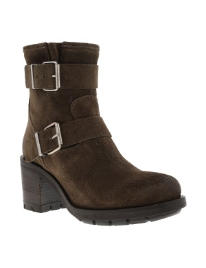 Boots Kulty femme taupe