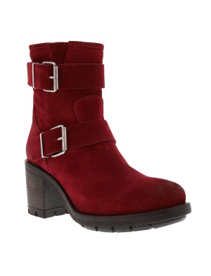 Boots Kulty femme rouge