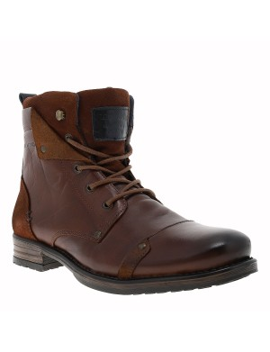 Boots Yedes homme marron