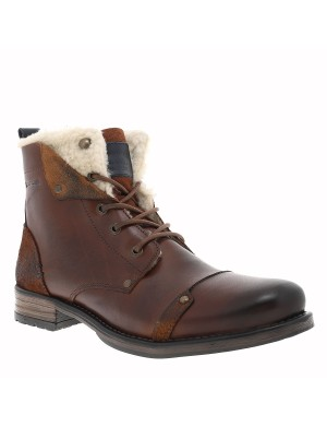 Boots Youndine homme marron