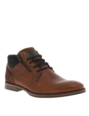 Bottines homme marron