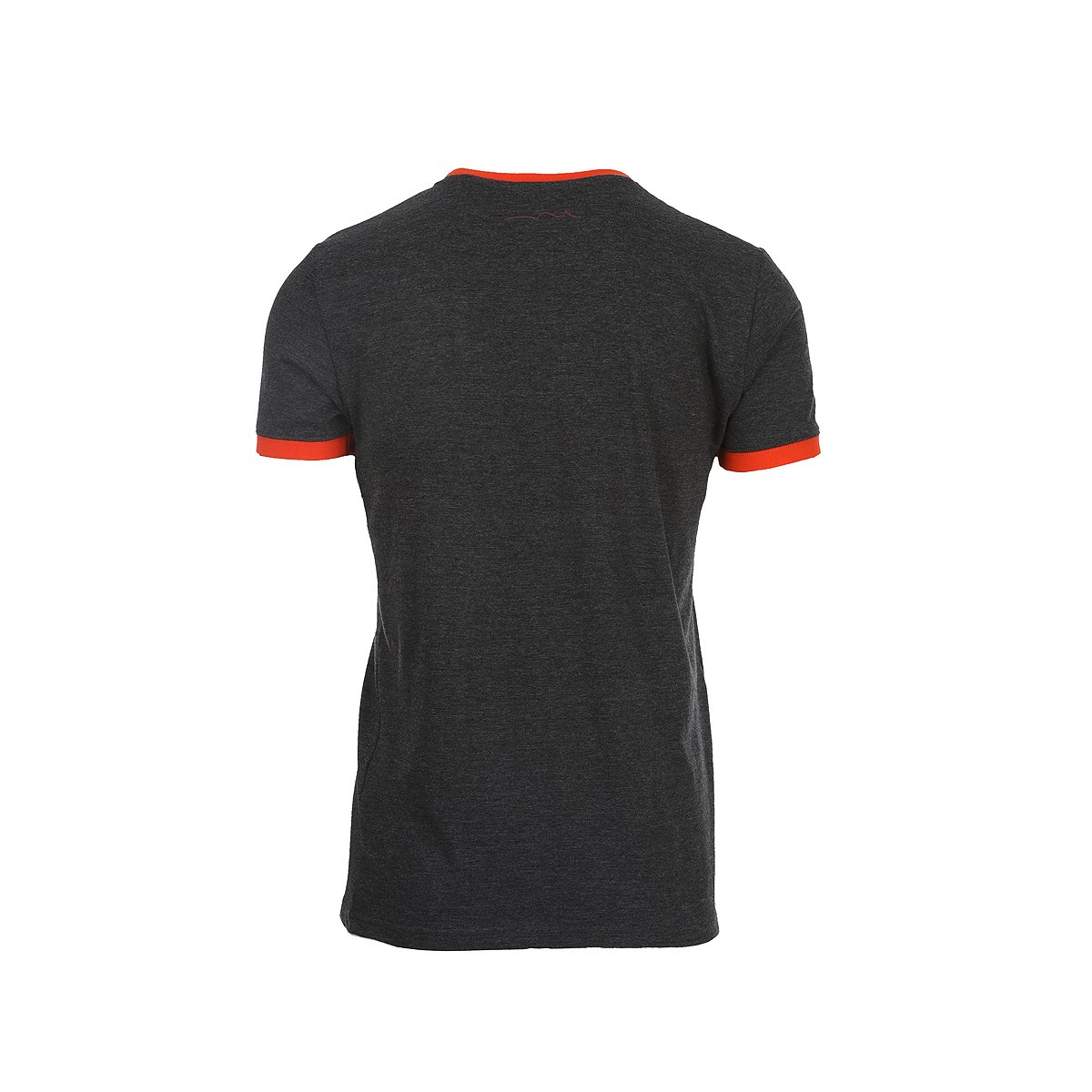 T-shirt manches courtes homme noir TEDDY SMITH