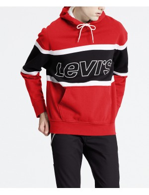 Sweat homme rouge