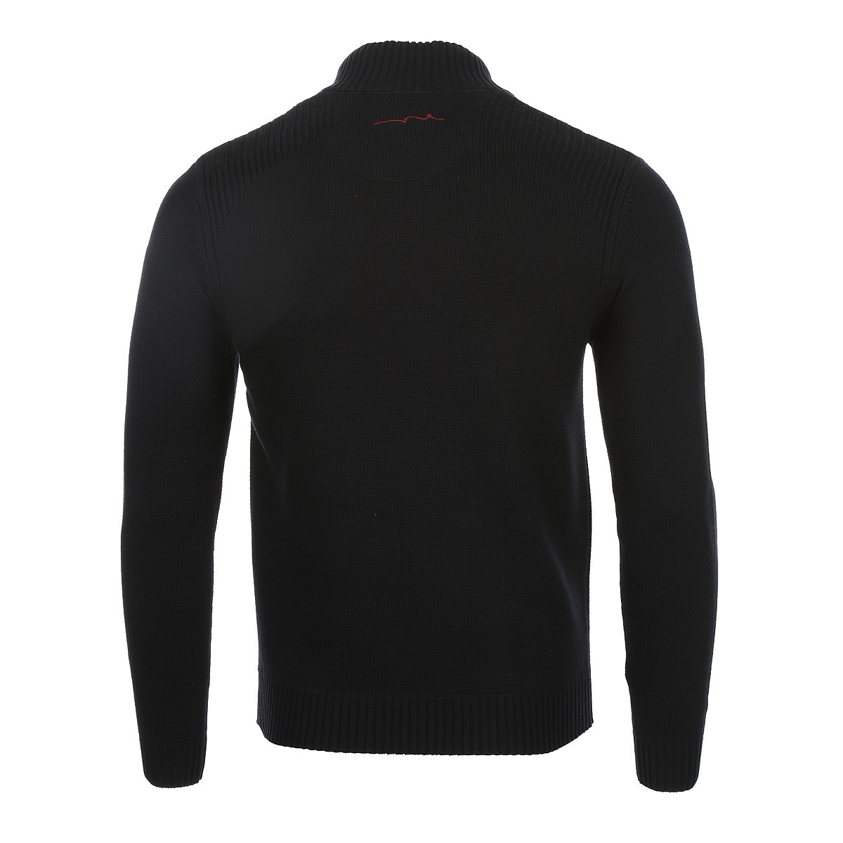 Pull homme noir TEDDY SMITH