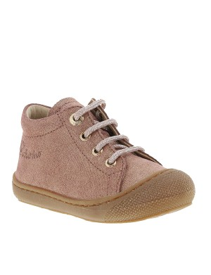Boots Cocoon fille rose