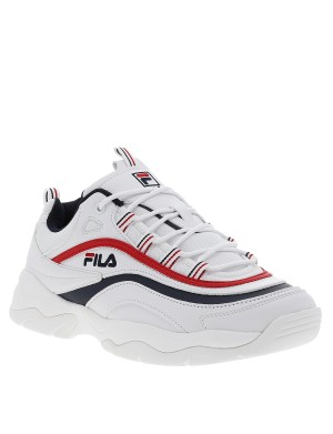 Baskets Ray Low homme blanc