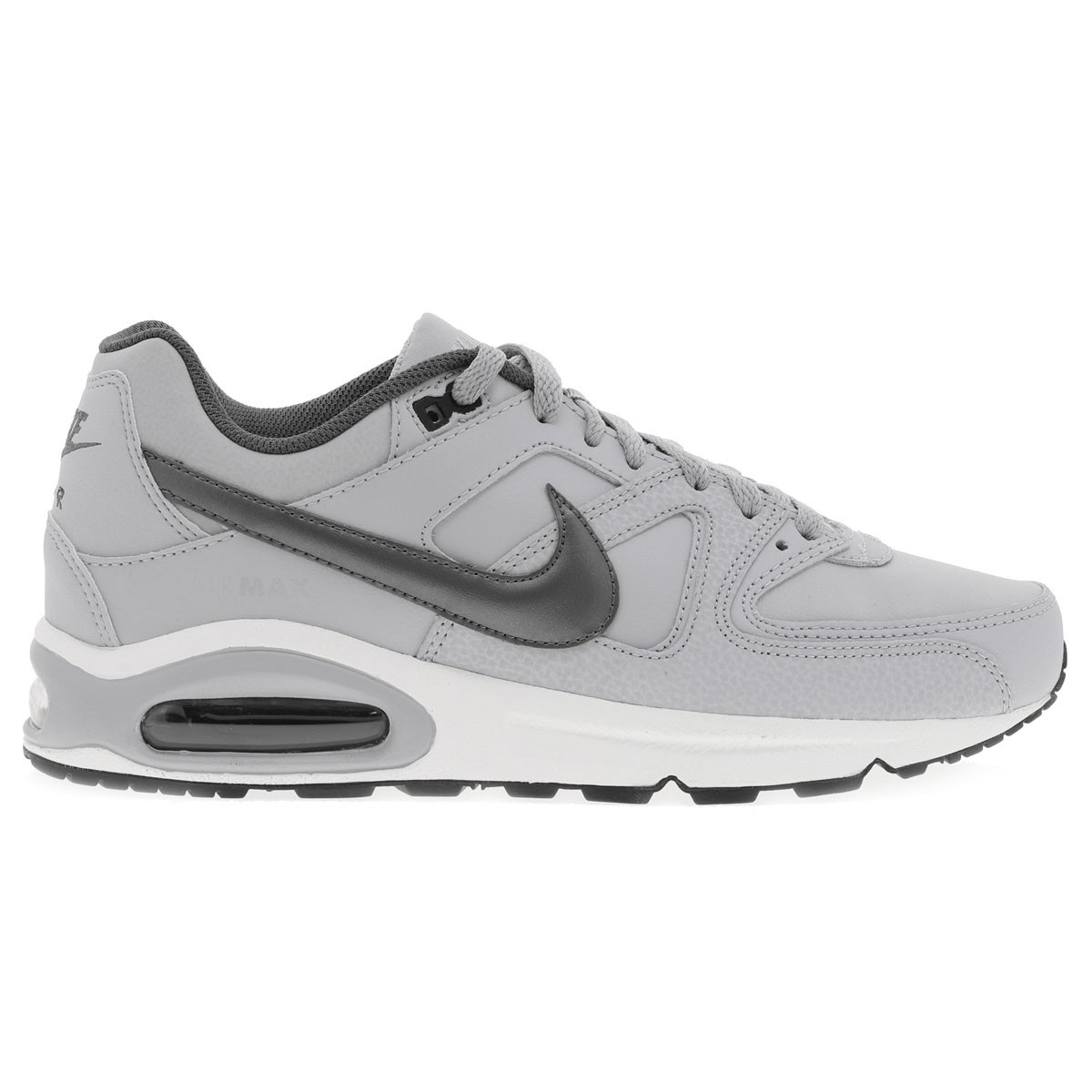Baskets Air Max Command Leather homme gris NIKE