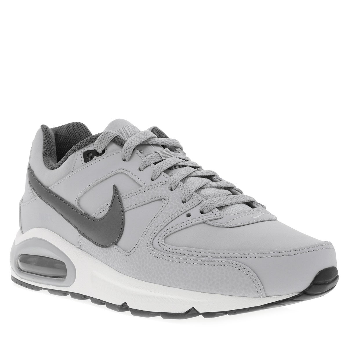 NIKE Baskets Air Max Command Leather homme gris