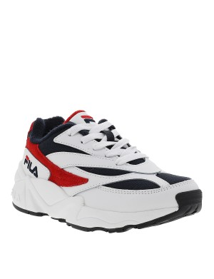 Baskets Venom Low garçon blanc