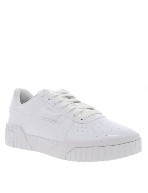 Baskets JR Cali Patent fille blanc