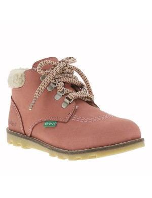 Boots Nonohook fille rose